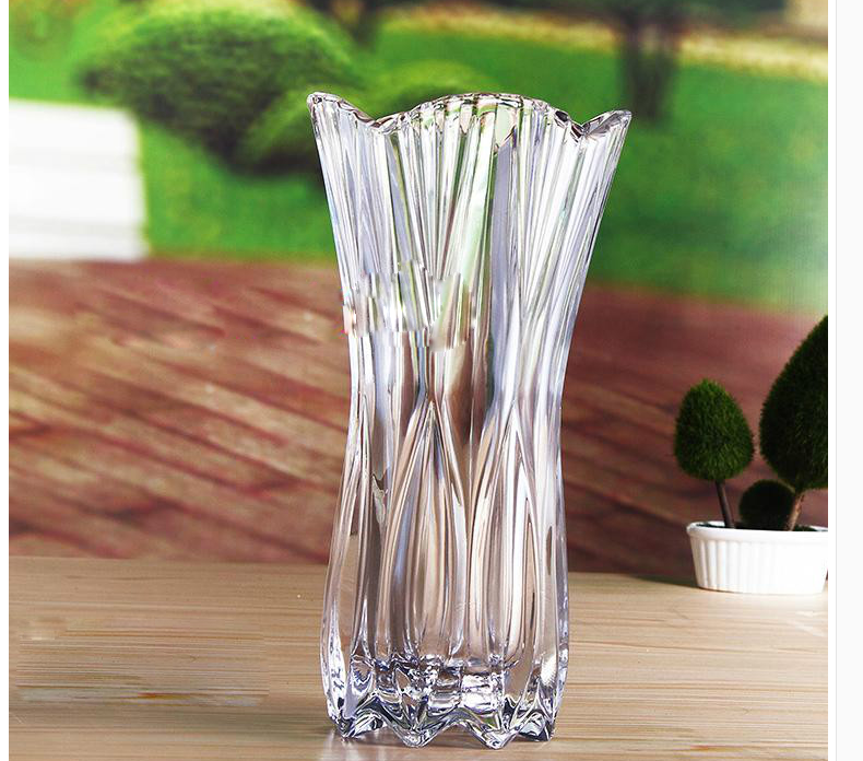 Wedding Flower Vases Wholesale: Sales Promotion Glass Vases Cheap Import Flowers Vase