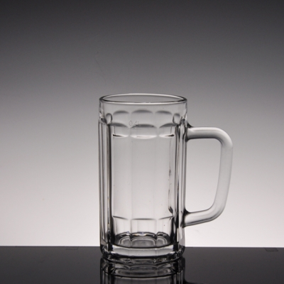 Beer glass and mug