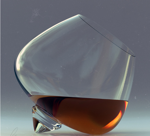stemless brandy glasses