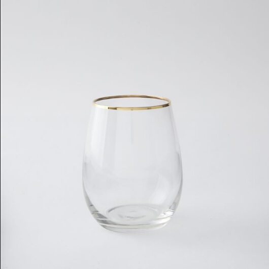 Drinking Cups With Gold Rim