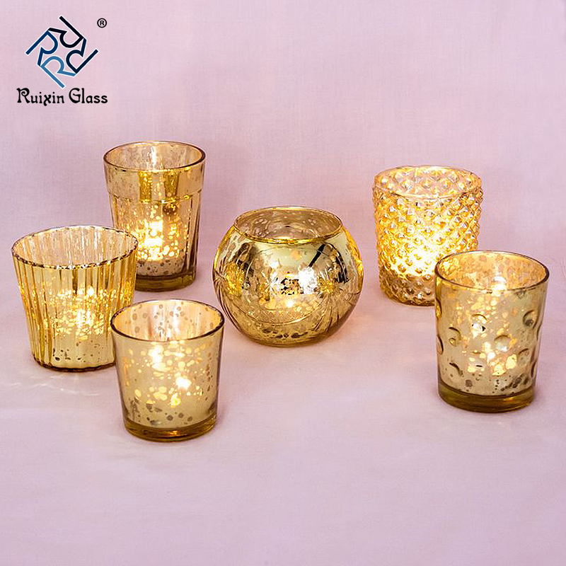 CD012 Top Sale Low Price Customization Rose Gold Candle Holder Manufacturer In China