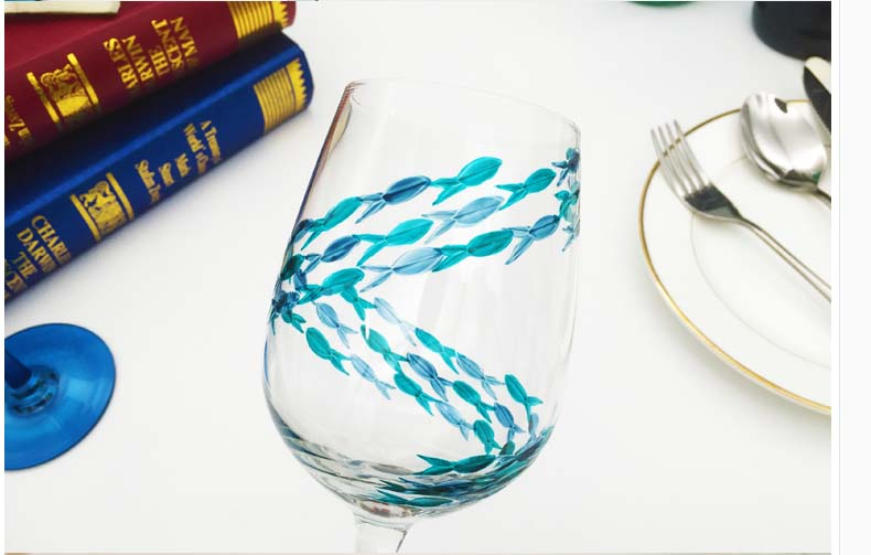 unique glass painting designs