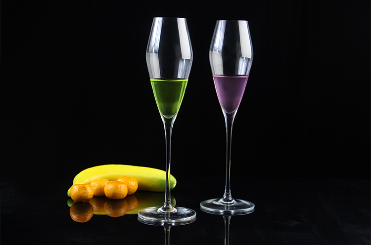 China best bar stemware supplier lead-free crystal glass and china champagne glass manufacturer