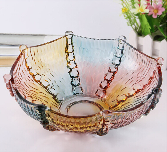 Color Decorative Dried Fruit Bowls