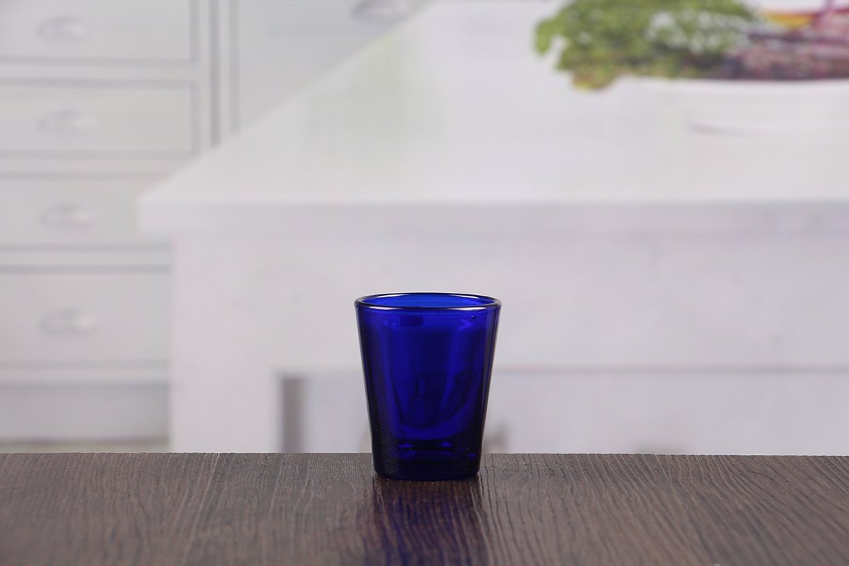 Blue Personalized Shot Glasses