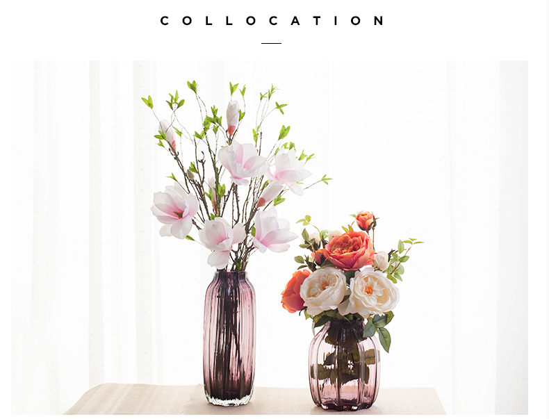 colored vases wholesale