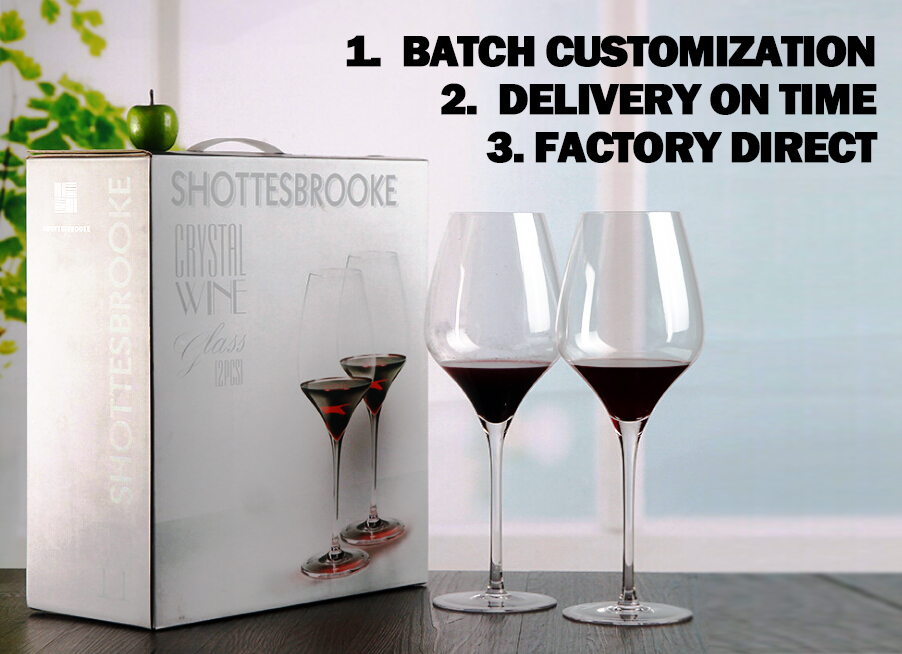 08 Wholesale Factory Price Custom Goblet Bohemia Wine Glass Bulk Crystal Wine Glasses