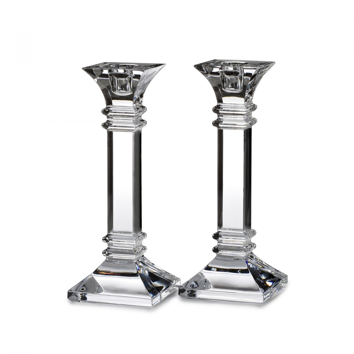 CD056 Glass Pillar Candle Holders Wholesale