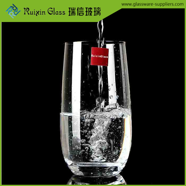 Heat resistant glass cup