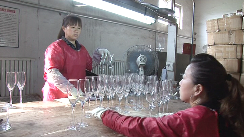 China glassware manufacturer how quality control