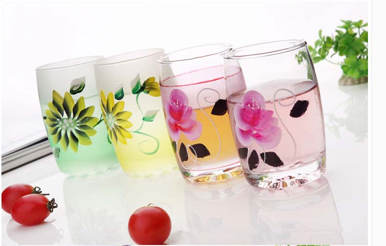 Handpainted Wine Glass Cool Drinking Glasses Hand Painted