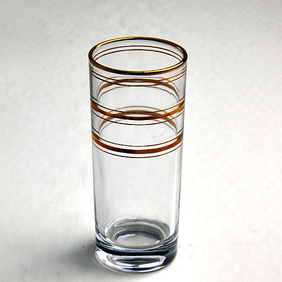 china Gold Rim Hot Sale Drinkware Gold glass tumblers best wine glasses factory