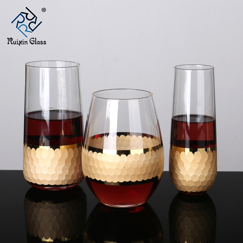 13 Wholesale Customization Withe Wine Glasses Stemless