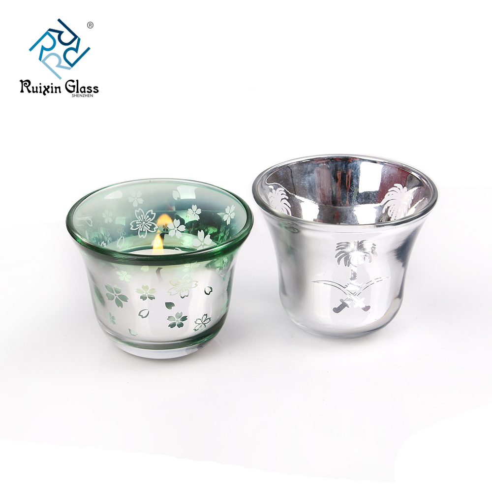China glass votive holders photos