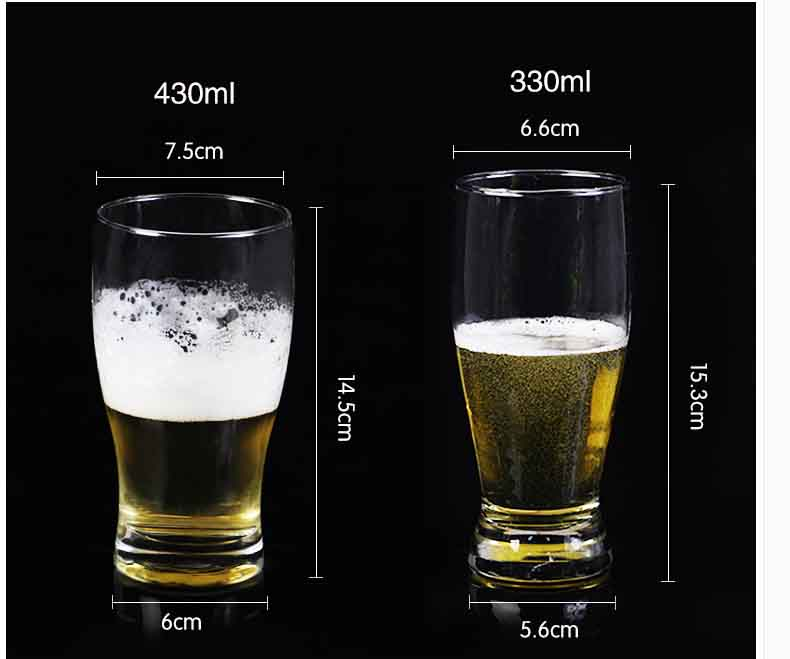 beer glass cups