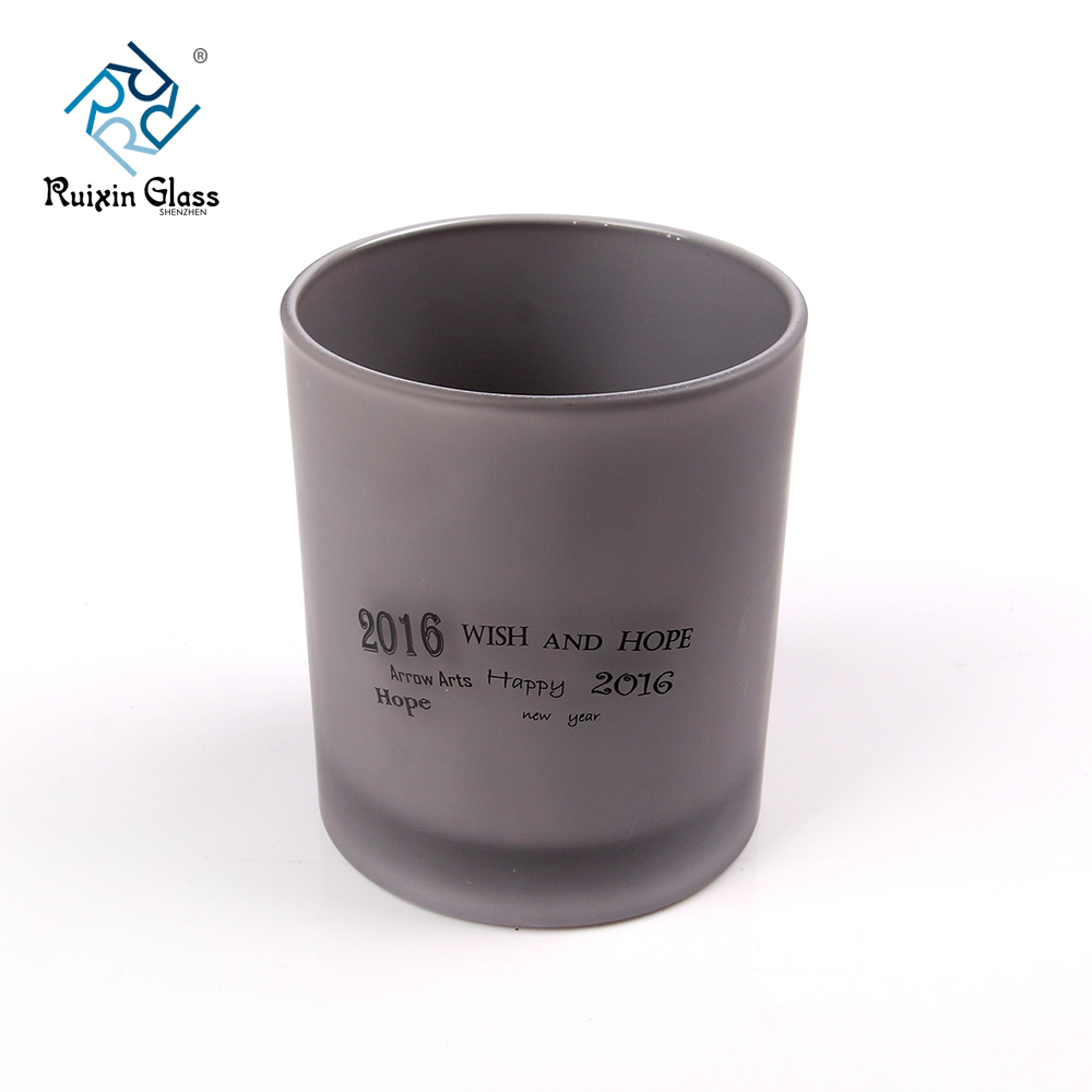 Chinese factory wholesale grey candle holders