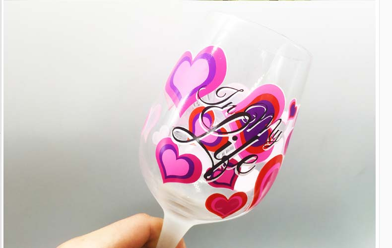 cute painted wine glasses