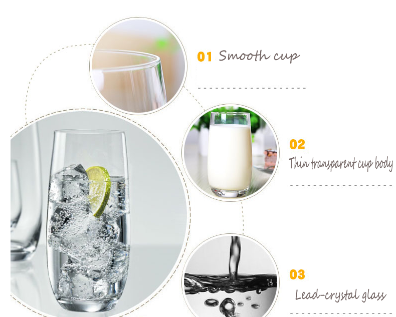 types of beverage glasses wholesale