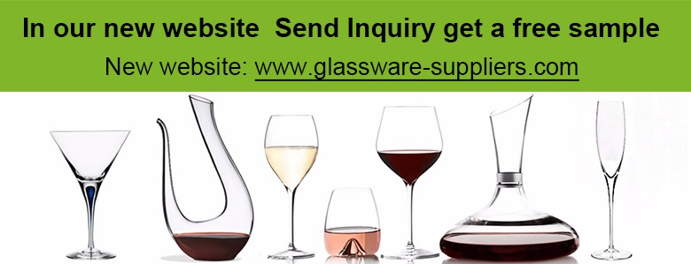 Double wall cocktail glass and red wine glass wholesale