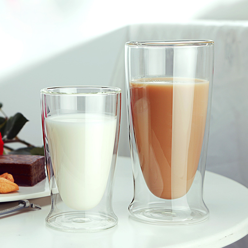 double walled glass tumbler