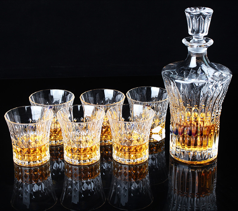 glassware for whiskey