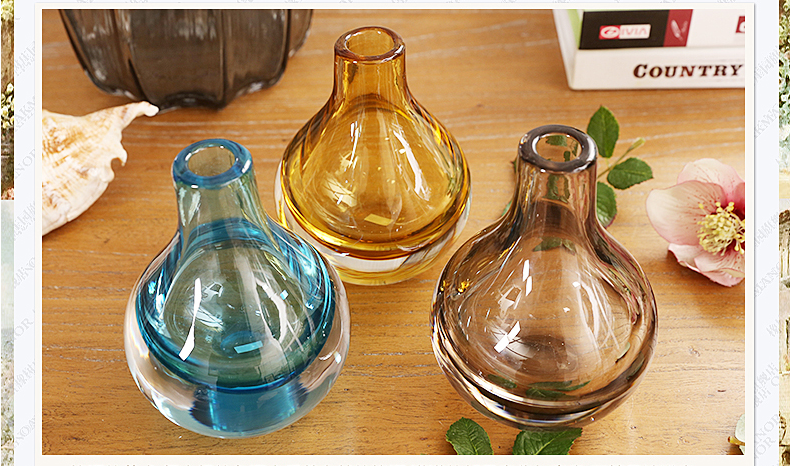 blown glass vases
