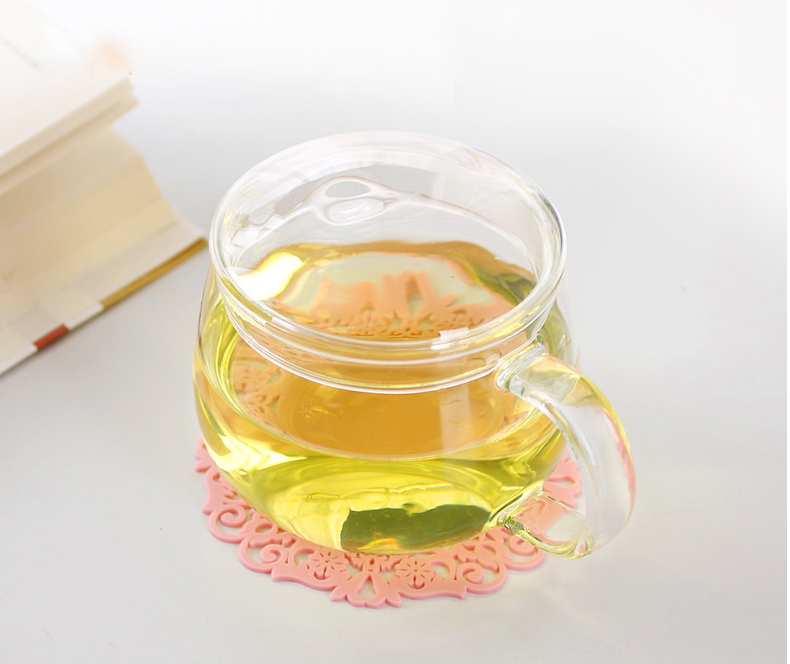 glass tea cups with handle