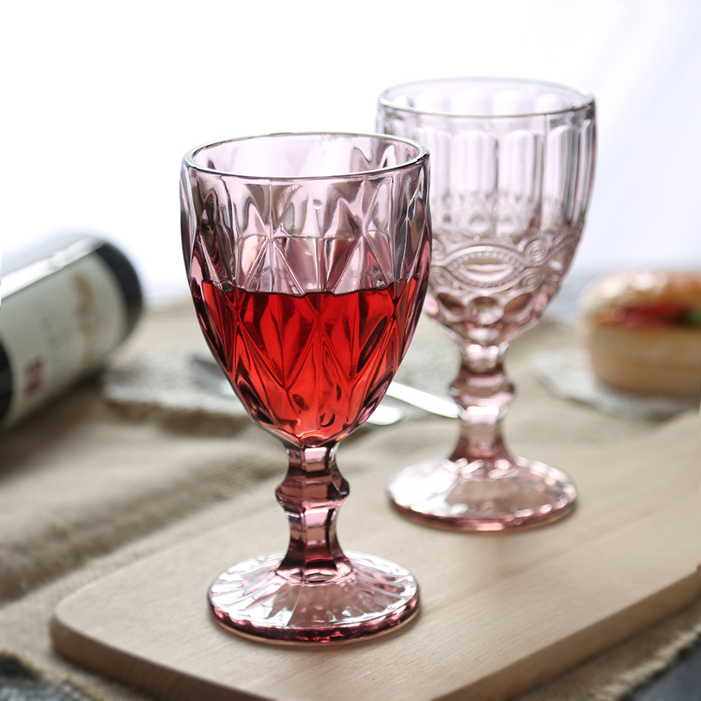 short wine glasses
