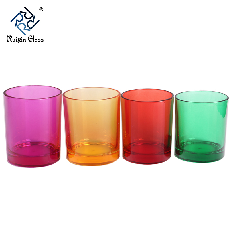 CD031 Glass Candle Holders Personalised Customization