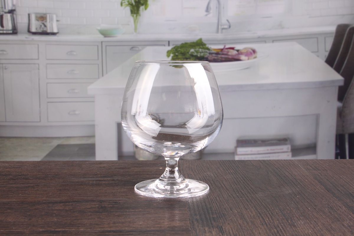Lead free brandy glasses
