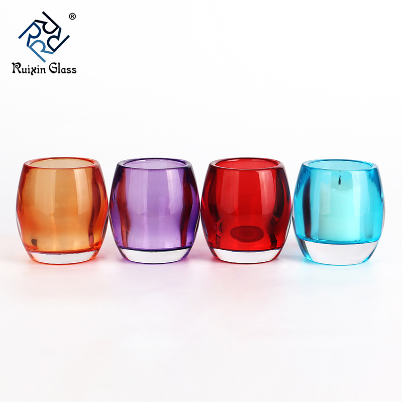 CD061 Votive Candles Bulk In Glass