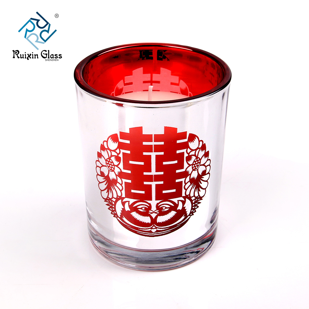 wholesale decorative glass candle holders