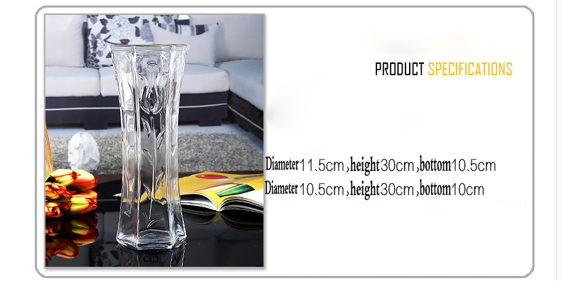 wedding glass vases wholesale