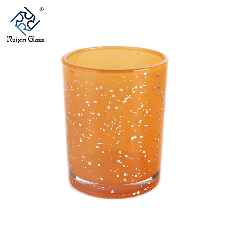 CD071 Electroplated Crystal Gold Votive Candle Holders Wholesale
