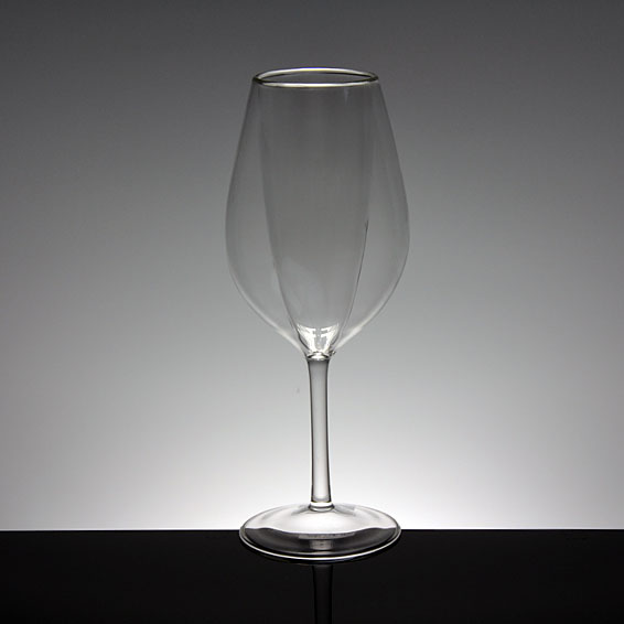 China new hot sale double wall glasses wine glass double wall cups supplier