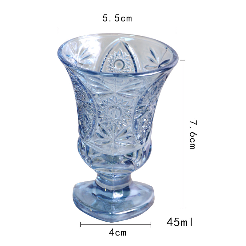 small glass decanters