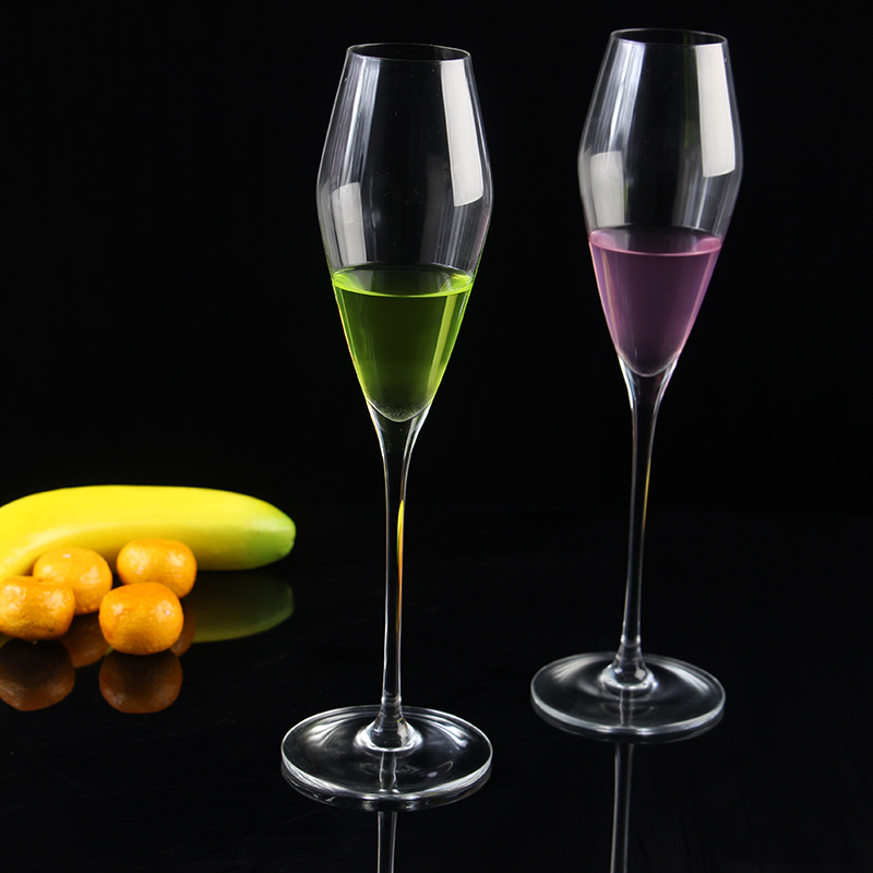 Chian exporter wedding champagne flutes champagne glass and cheap champagne glasses supplier - Square bottom wine glasses ...