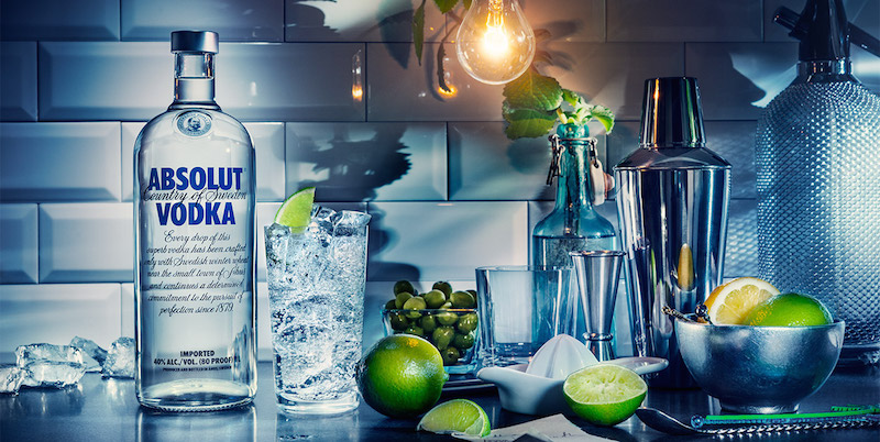 Absolut Vodka how to drink?