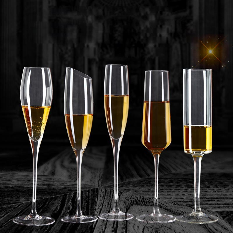 crystal champagne glass supplier