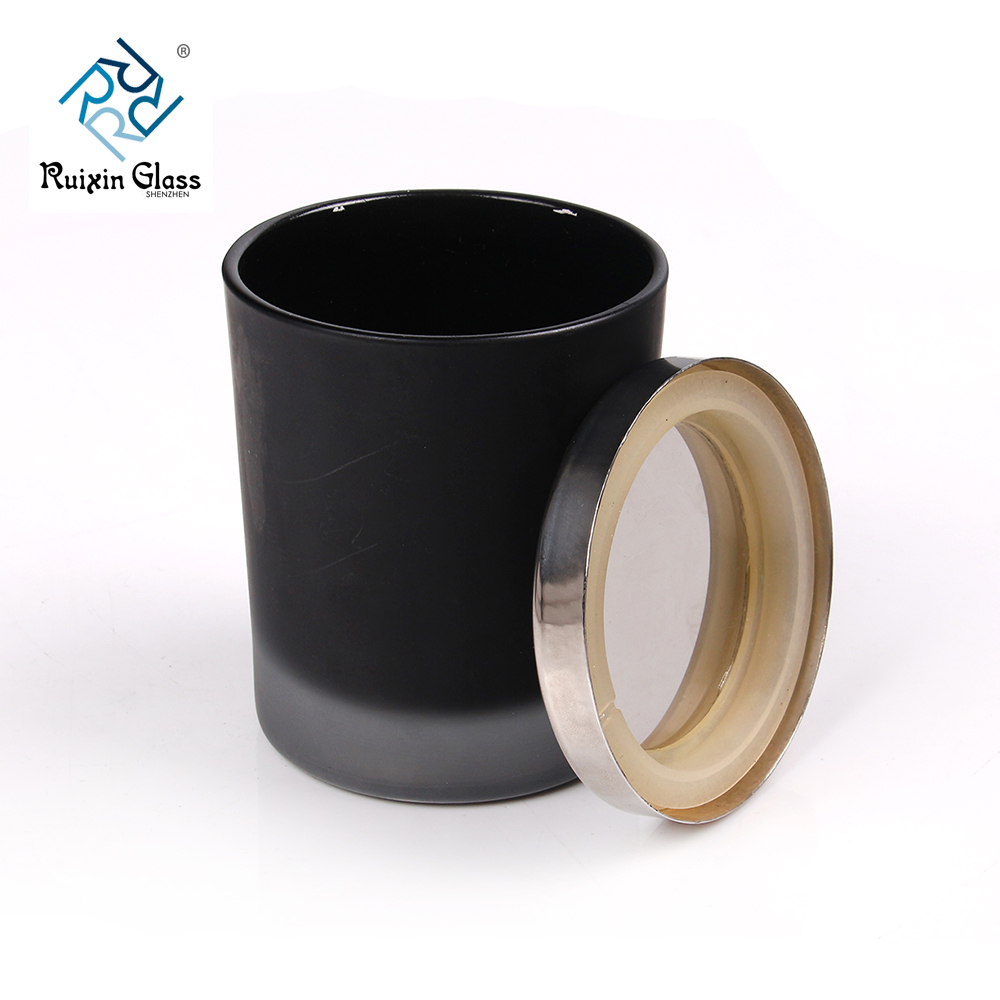 Chinese factory wholesale black votive candle holder
