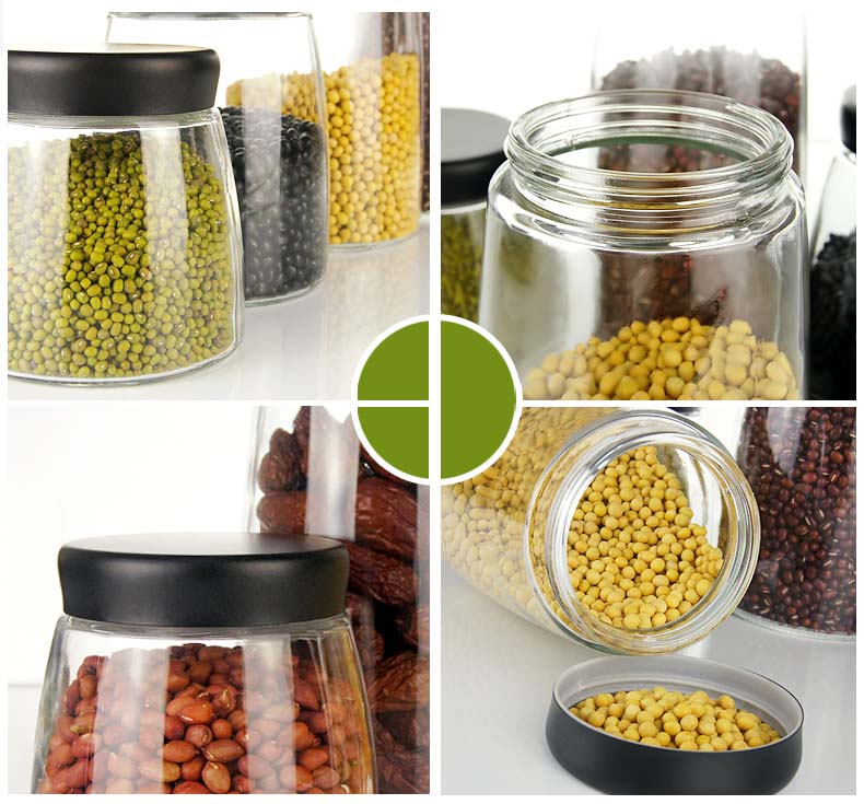 sealed glass jars wholesale