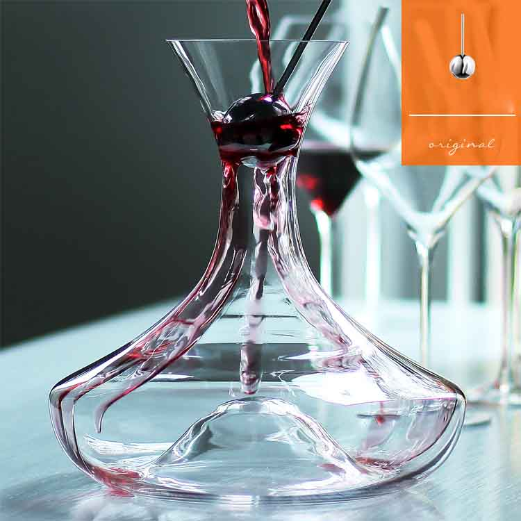 glass wine decanter