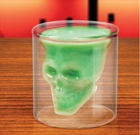 skull shot glass wholesale