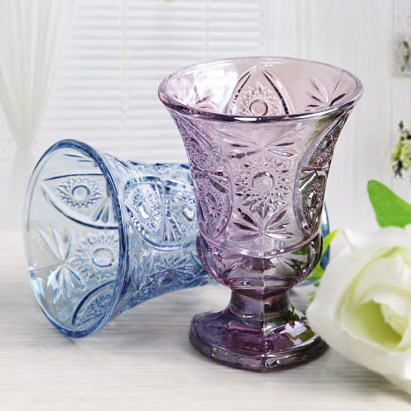 stained glass cups