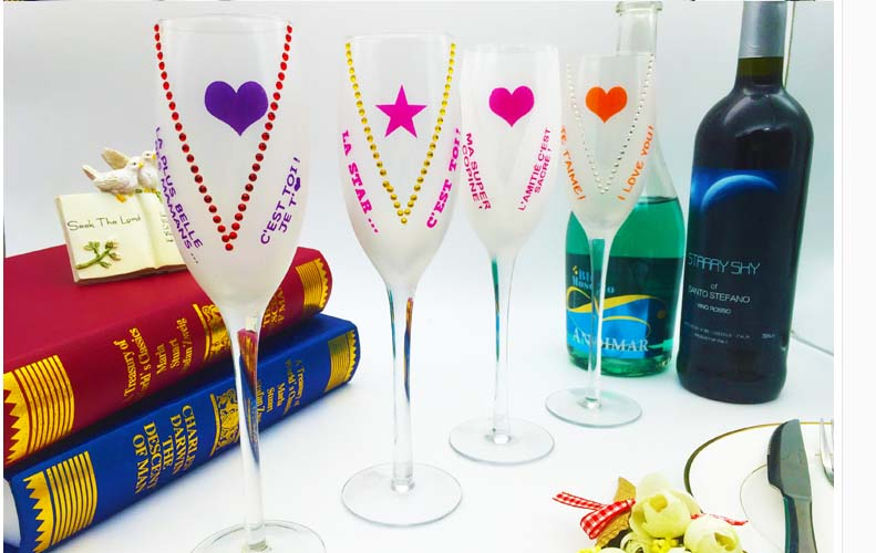 art wine glasses