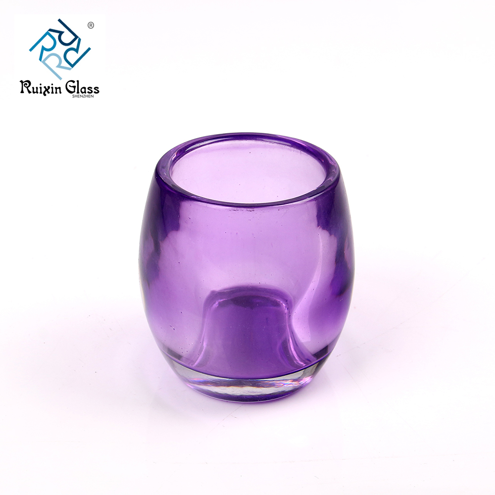 Chinese factory wholesale glass votive holders