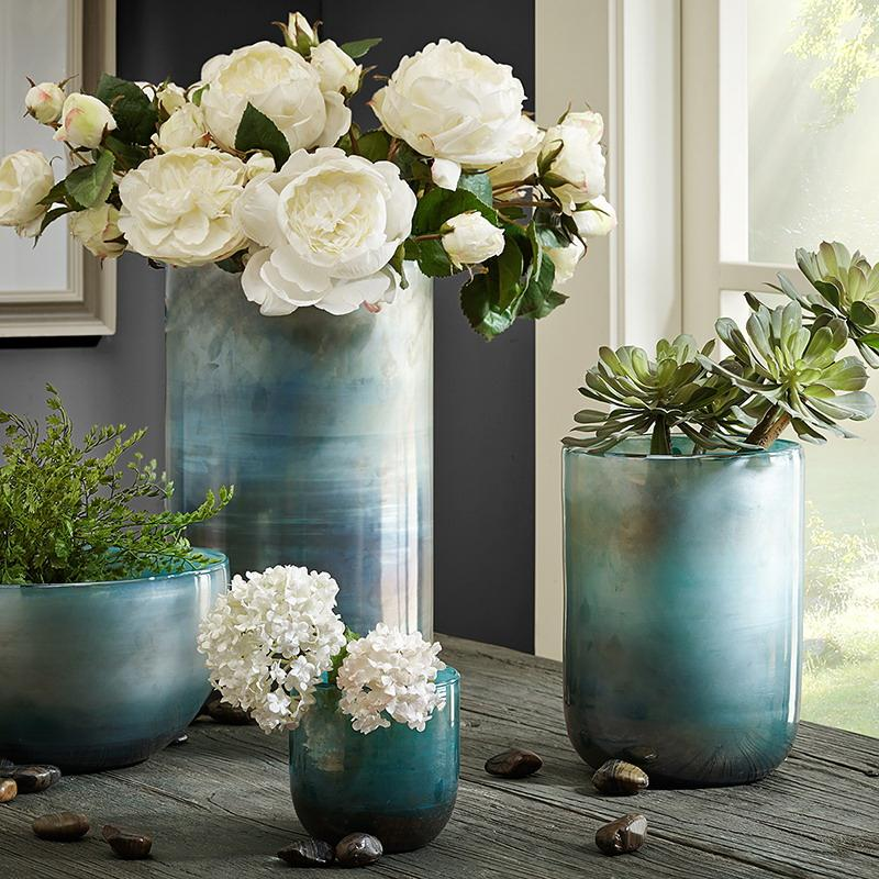 glass bowl vases