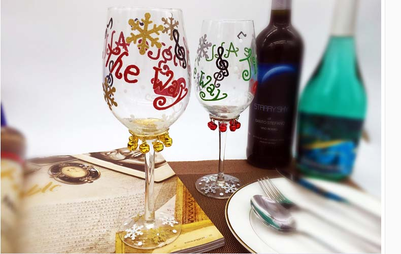 wine glasses to paint