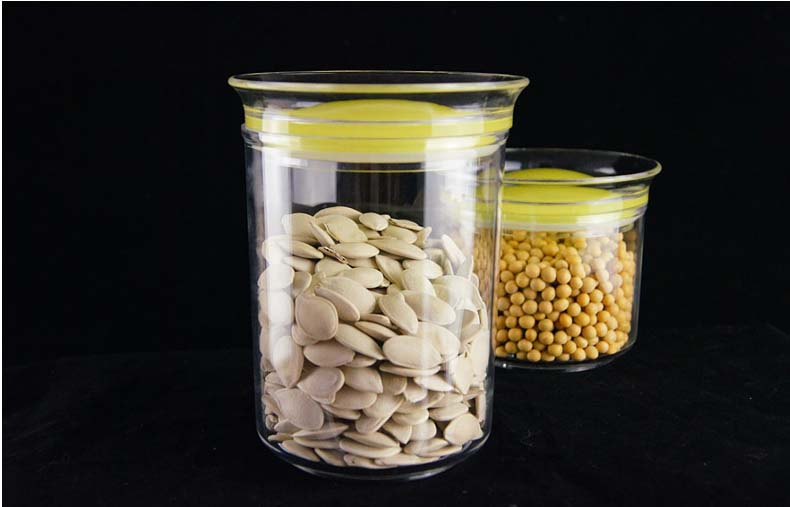 storage glass jars