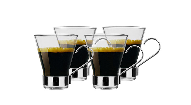 clear coffee mugs